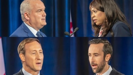 Conservative leadership debate