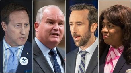 Conservative leadership candidates composite