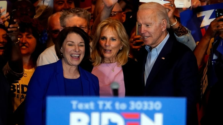 Amy Klobuchar Withdraws Her Name As Possible Biden Running Mate