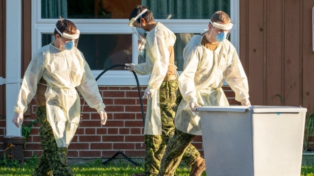 Military mission ending in most Ontario long-term care homes