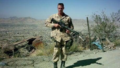 Former master corporal Charles Scott