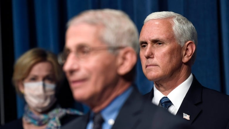 Pence sees 'remarkable progress' as virus spikes, states retreat