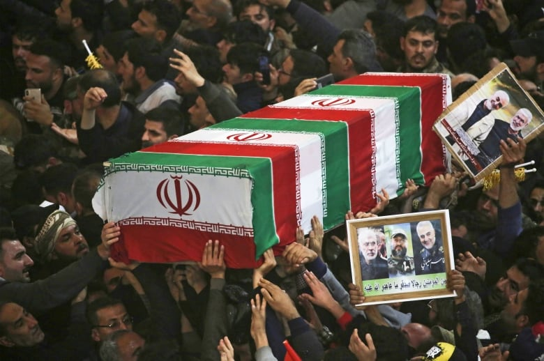 Iran issues arrest warrant for Donald Trump over airstrike on top general