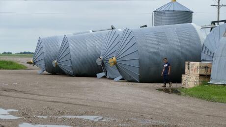 Stormy weather soaks southwest Manitoba