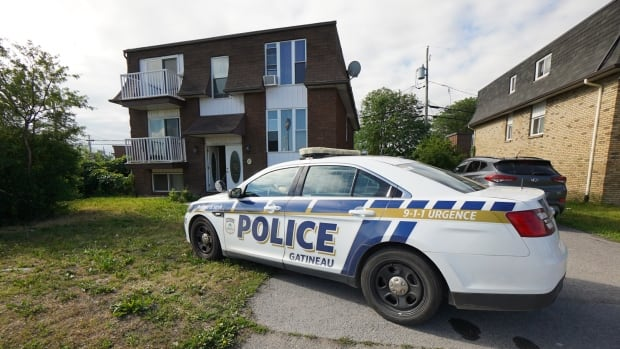 Baby's body found behind Gatineau apartment building | CBC News