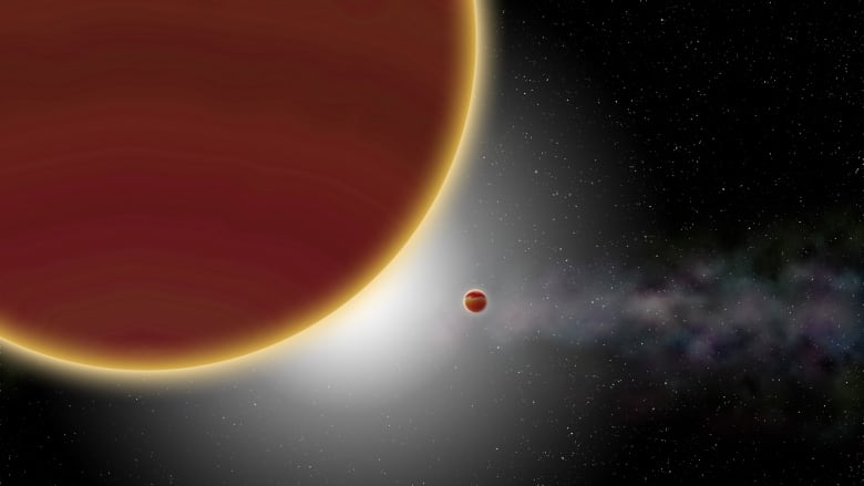 A Jupiter-like planet was spotted near a distant star