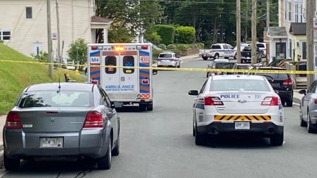 Heavy police presence as residents told to stay indoors on St. John's street