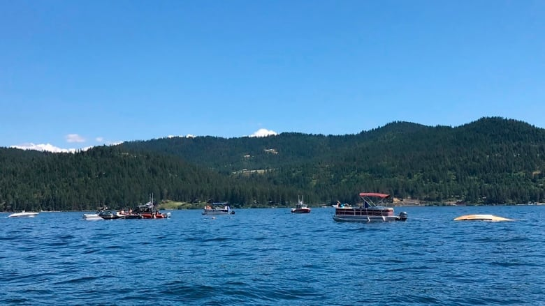 At least 2 people killed in plane collision over Lake Coeur d'Alene in Idaho