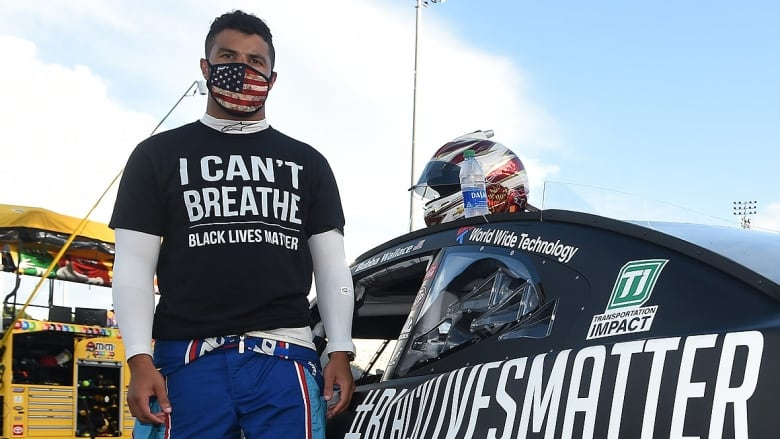 Trump calls on black NASCAR driver to apologize over noose protest