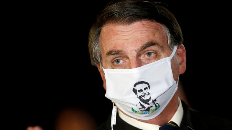 'Life goes on': Brazil's Bolsonaro tests coronavirus positive
