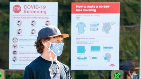 COVID-19 Toronto mask testing TTC