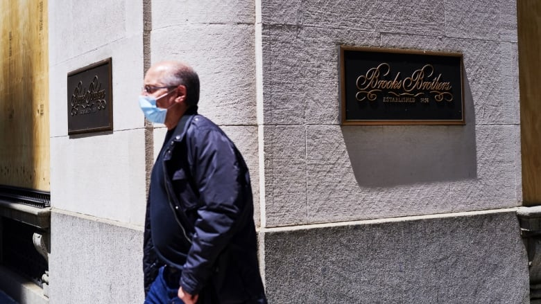 Brooks Brothers files for bankruptcy amid pandemic