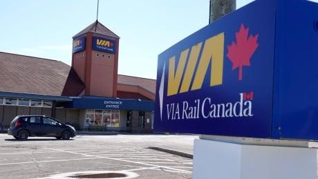Via Rail Train Station in Moncton