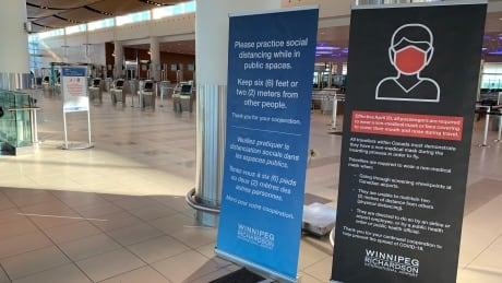 Winnipeg airport COVID-19