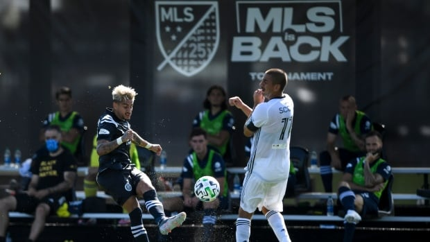 MLS announces 4 more positive tests with tournament underway in Florida