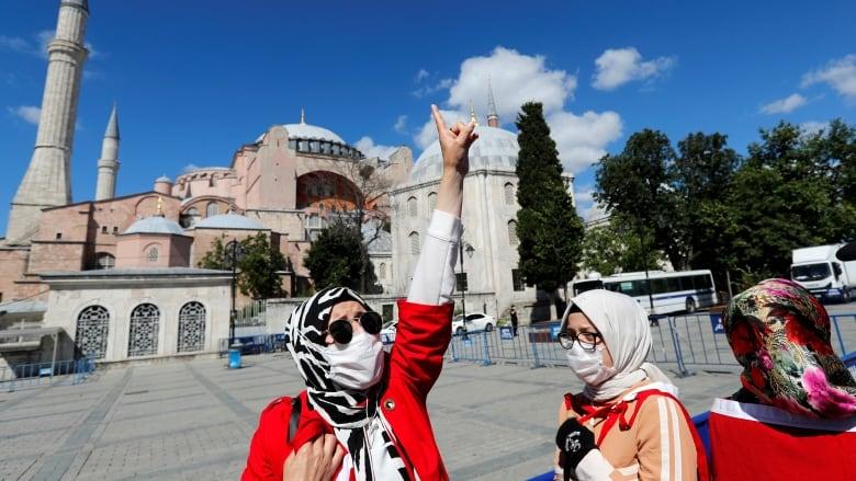 Hagia Sophia: Russian church says Turkey is 'ignoring millions of Christians'