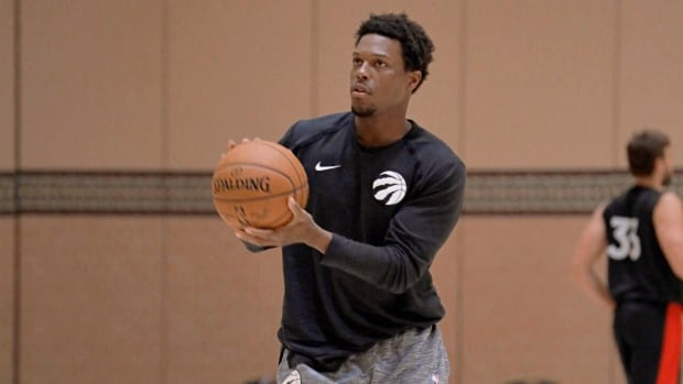 Raptors' 1st practice in 4 months had '1st day of school' feeling | CBC Sports