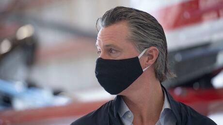 Virus Outbreak California Governor