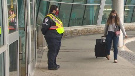 St. John's airport masks covid 19