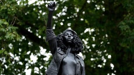 Statue of Black protester replaces toppled U.K. slave trader
