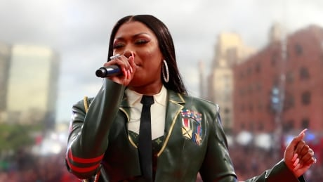 Megan Thee Stallion says she 'suffered gunshot wounds' and police drove her to hospital