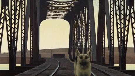 Alex Colville - Dog and Bridge