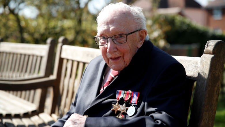 Captain Sir Tom Moore admitted in hospital with coronavirus