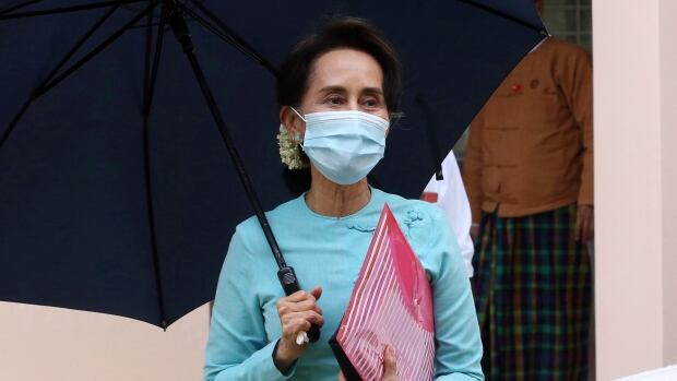 Disgraced Myanmar leader Aung San Suu Kyi to speed again in November election thumbnail