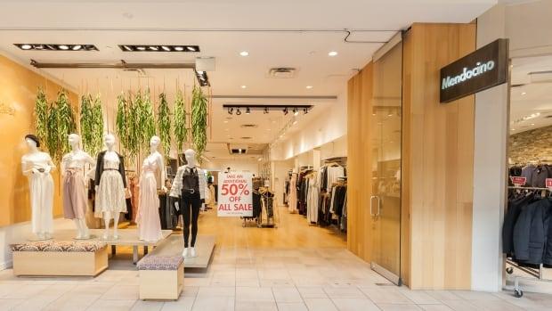 Toronto-based fashion chain Mendocino won't reopen its stores thumbnail
