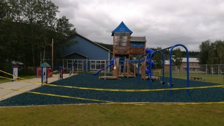 Playground at Minto park