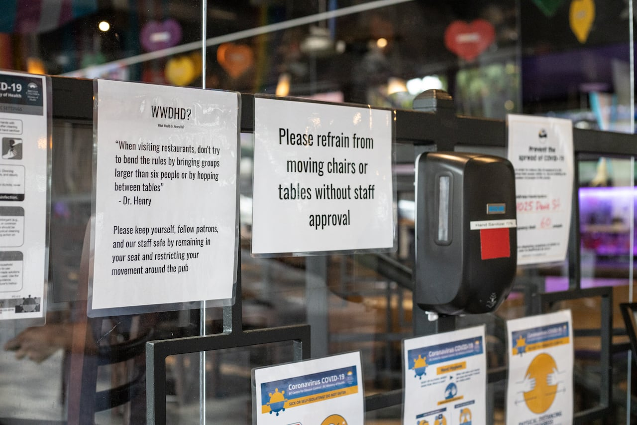No Dancing No Self Service No Problem Say Vancouver Bars Of New Rules Cbc News
