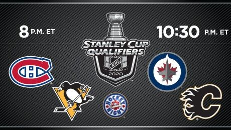 HNIC - MTL at PIT - WPG at CGY - Canadiens at Penguins - Jets at Flames - 2020 Stanley Cup Qualifier