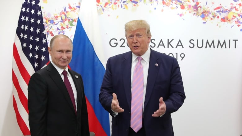Trump Says He 'Never' Discussed Russian Bounty Plot With Putin