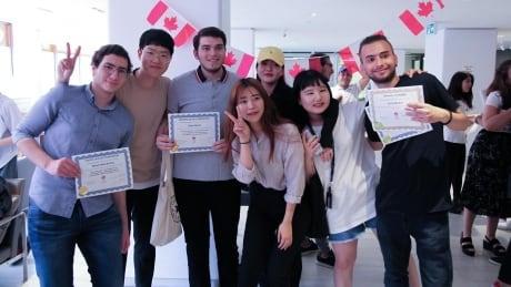 Grads at Mentora Language Academy