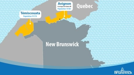 2 Quebec border regions N.B. will bubble with