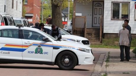 RCMP Moncton crime scene