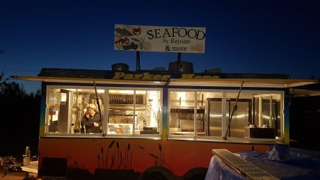 Rejean Cromwell opened his food truck after COVID-19 wrecked his previous business.