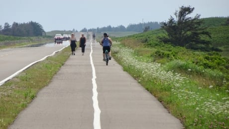 Various pictures of beaches and trails at PEI National Park on the North Shore. Taken July 30
