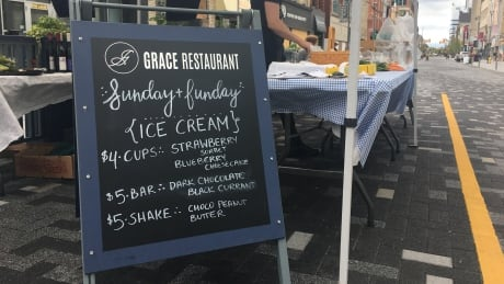 Rainy start to car-free weekends on Dundas Place