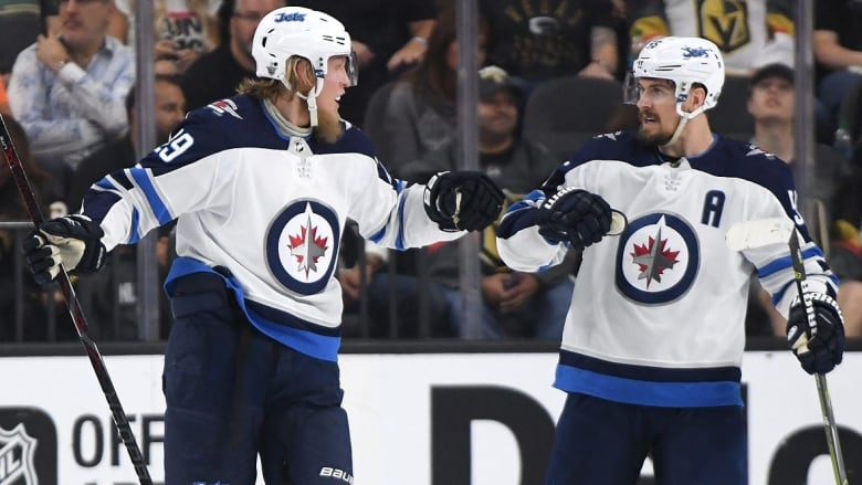 Jets Mum On Severity Of Scheifele Laine Injuries A Day After Qualifier Opener Cbc Sports