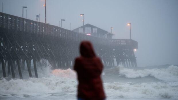 Hurricane Isaias makes landfall in North Carolina | CBC News