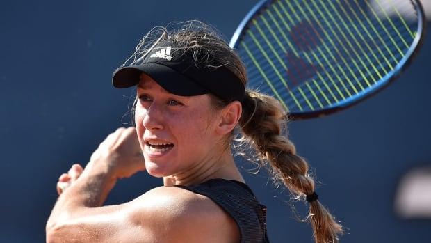 Qualifier Kaja Juvan upends No. 2 seed Vondroušová in Round 1 of Palermo Open