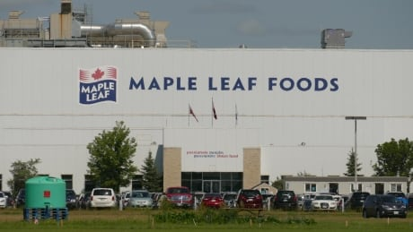 A worker at Maple Leaf Foods in Brandon has tested positive for COVID-19.