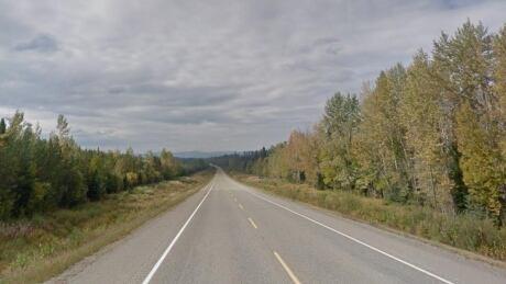 Highway 16 Prince George Purden Lake