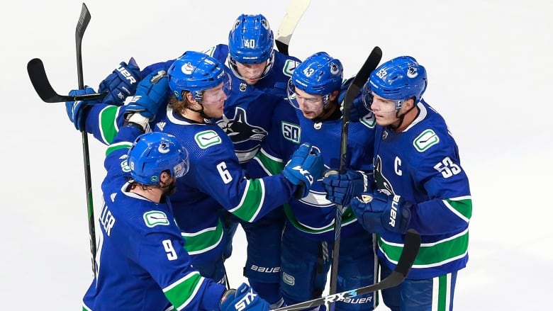 Veteran Presence Crucial To Inexperienced Canucks Learning On The Fly In Playoffs Cbc Sports