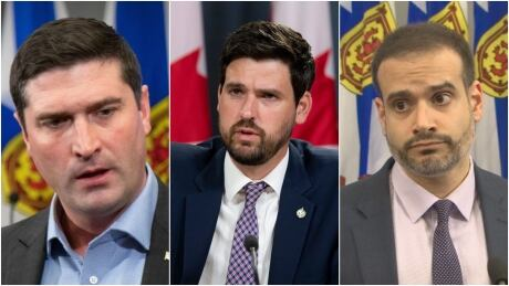 Geoff MacLellan, Sean Fraser, Zach Churchill