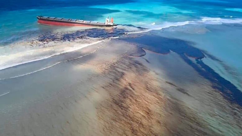 Mauritius declares environmental emergency over oil spill