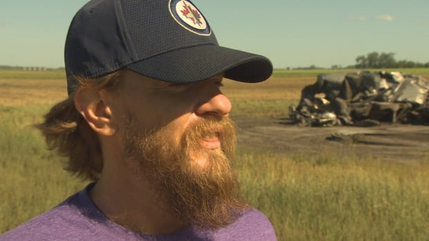 Storm chaser recounts 'monster' tornado that killed 2, injured 1 near Virden, Man. | CBC News