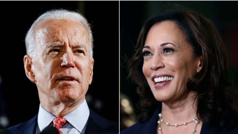 Joe Biden Selects Kamala Harris As U S Vice Presidential Running Mate Cbc News
