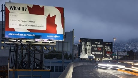 Canadian tech group spends 0K on billboards to lure anxious tech workers from U.S.